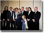 President Bill Clinton and Vice President Al Gore with Art Garfunkel and band. Amelia Island Florida 1997